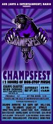 Poster Artwork   CHAMPSFest 2012